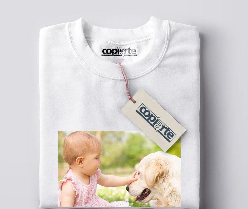 Camiseta personalizada transfer