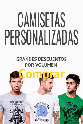 Descuentos por volumen en camisetas personalizadas